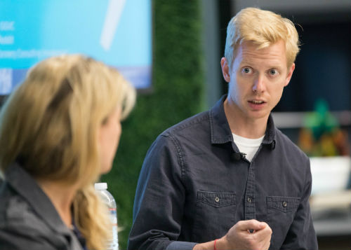 Sell on vision and mission, advises Steve Huffman