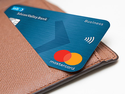 Svb innovators card silicon valley bank card sticking out of wallet colourmoves