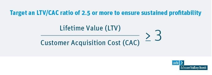 Target an LTV CAC ratio of 3 or more.jpg
