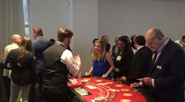 SVB co-sponsors Active Minds' New York Casino Night