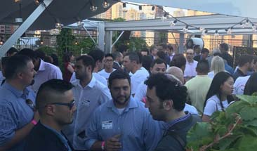 SVB co-hosts Rooftop Summer Solstice Happy Hour