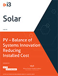 i3 Solar Report on Photovoltaics